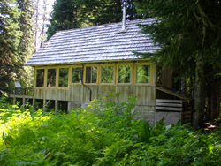 barlow cabin trillium lake basin cabins